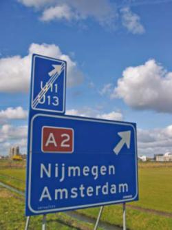 Foto bord Uitwijkroutes